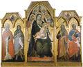 Spinello aretino, trittico della madonna in trono e santi.jpg
