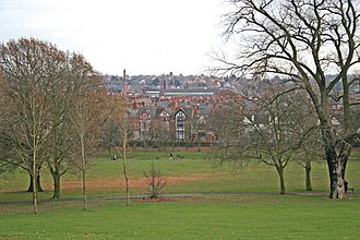 Spinney Hills - Image: Spinney Hill Park, Leicester geograph.org.uk 94064