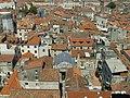 Split, V cast palace z veze baziliky, v centru Jupiteruv chr.jpg