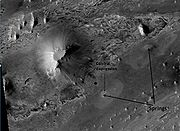 Springs in Vernal Crater