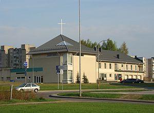 Pilaitė - Image: St.Joseph church Vilnius