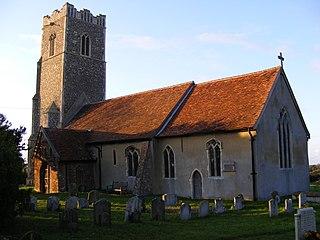 Monewden village in the United Kingdom