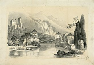 Eugène de Malbos - Image: St. Béat (Pyrénées) Fonds Ancely B315556101 A MALBOS 1 007