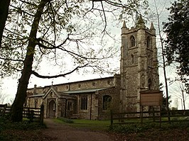St. Mary the Virgin church, Little Sampford, Essex - geograph.org.uk - 160065.jpg