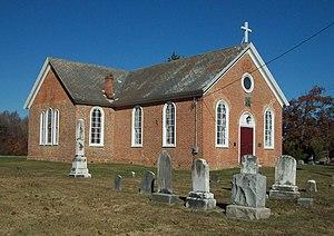 St. Paul's Parish Church (Brandywine, Maryland) - St. Paul's Parish Church, November 2011