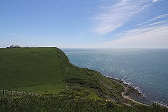 St Alban's Head - St Alban's Head, Dorset, seen from the SW Coast Path to the north.