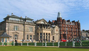 English: St Andrews golf club. The home of golf