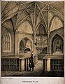 St Bartholomew the Less, Smithfield, London, the interior wi Wellcome V0013144.jpg