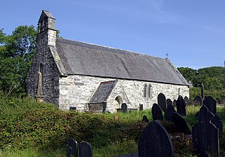 Llanfrothen village in the United Kingdom
