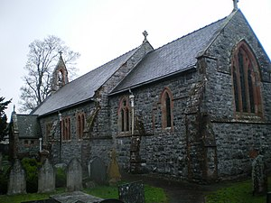 St Erfyl's church, Llanerfyl - geograph.org.uk - 1594259.jpg