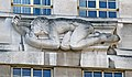 St James's Park Station sculptures – North Wind by Eric Gill.jpg