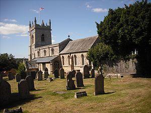 Colsterworth - Image: St John the Baptist, Colsterworth 8