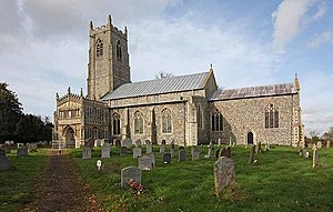 Pulham St Mary - Image: St Mary's Church, Pulham St Mary, Norfolk geograph.org.uk 1020905