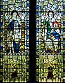 St Michael's church - C20 stained glass window - geograph.org.uk - 1300974.jpg