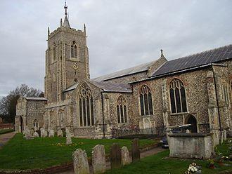 Aylsham - Image: St Michaels Aylsham