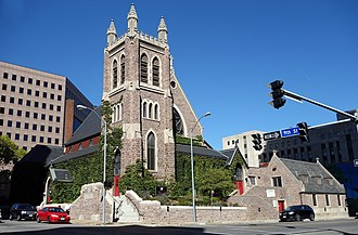 Episcopal Diocese of Iowa - Image: St Paul Episcopal Church Des Moines IA