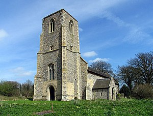 Dunton, Norfolk - Image: St Peter, Dunton, Norfolk geograph.org.uk 320412
