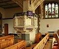 St Peter, Mount Park Road, Ealing, London W5 - Pulpit - geograph.org.uk - 1750436.jpg