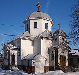 Romanian Americans - Image: St Stefans Romanian Orthodox Church