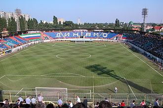 FC Anzhi Makhachkala - Anzhi played at the Dynamo Stadium until 2013.