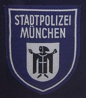 Municipal police (Germany) - Patch of the Munich City Police