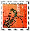 Stamp Germany 2000 MiNr2131 Friedrich Nietzsche.jpg