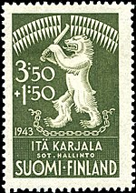 Stamp Karelia Finnish occupation 1943 semipostal.jpg