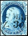 Stamp US 1851 1c type II.jpg