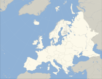 Standard map of Europe (blank).png
