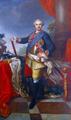 Stanisław August Poniatowski portrait in Nieborów Palace.PNG