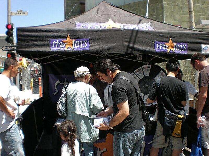 File:Star 101.3 tent at 5th Annual AHSC.JPG