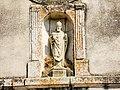 Statue de Saint Gérard. Façade de l'église de Praye.jpg