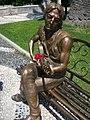 Statue of John Lennon in Durrës.jpg