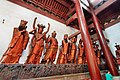 Statue of the Twenty-Four Devas (二十四諸天 Èrshísì Zhūtiān) in Lingyin Temple (靈隱寺 Língyǐnsì); Hangzhou, China Part 2.jpg