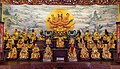 Statues of Doumu, Gods of Taisuei, God of Sun, and Goddess of Moon, at Tainan Sacrificial Rites Martial Temple 20171230.jpg