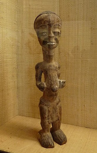 Lulua people - Image: Statuette Lulua