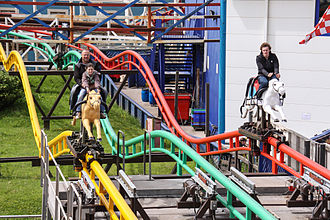 Steeplechase (Pleasure Beach Blackpool) - Image: Steeplechase Pleasure Beach Blackpool