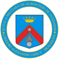 Stema Scolii Militare de Subofiteri de Jandarmerie Grigore Alexandru Ghica Dragasani.png