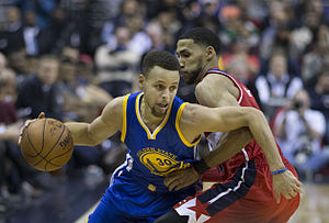 Stephen Curry - Curry against the Washington Wizards in 2016