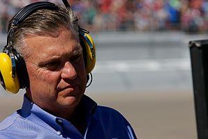 Steve Byrnes - Byrnes at Las Vegas Motor Speedway in 2014