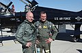 Steve Pearce Poses with US Air Force (USAF) Lieutenant Colonel (LCOL) Charles Langlais.jpg