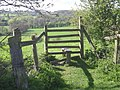 Stile on a footpath to Tanworth-in-Arden - geograph.org.uk - 1265159.jpg