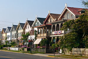 Cape May Historic District - Stockton Cottages