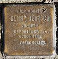 Stolperstein Blücherstr 61b (Kreuzb) Denny Deutsch.jpg