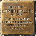 Stolperstein Leopold Tomschik Dunckerstraße 58 0056.JPG