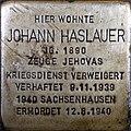 Stolperstein Salzburg, Johann Haslauer (Getreidegasse 33).jpg