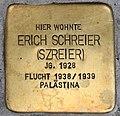 Stolperstein für Erich Schreier 2018 (Graz).jpg