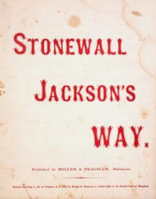 stonewall jacksons way