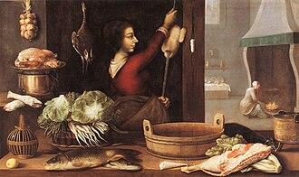 Sebastian Stoskopff - Les quatre éléments ou L'Hiver, (The four elements or Winter) ca 1633, (Musée de l'Oeuvre Notre-Dame)