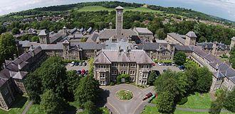 Glenside, Bristol - Aerial photograph of Glenside, Bristol